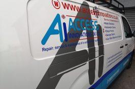 Access Innovations UK van